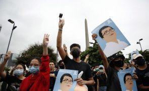 Protestos na Tailândia continuam pelo quinto dia consecutivo
