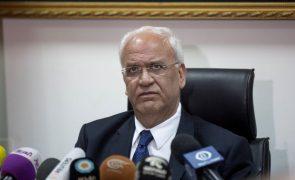 Covid-19: Responsável palestiniano hospitalizado em Israel