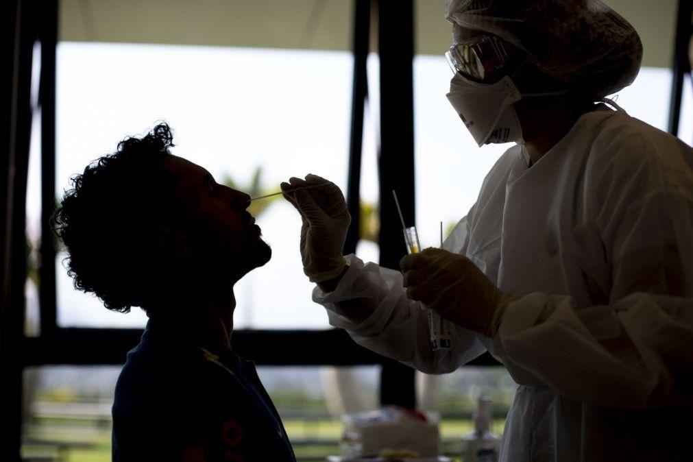Covid-19: Brasil soma 153.905  óbitos e 5,2 milhões de infeções