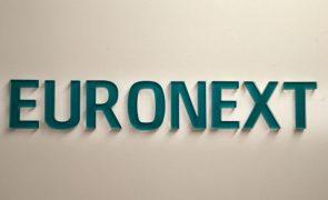 Negociação na Euronext suspensa devido a