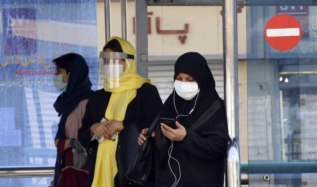 Covid-19: Irão anuncia recorde de 337 mortes em 24 horas