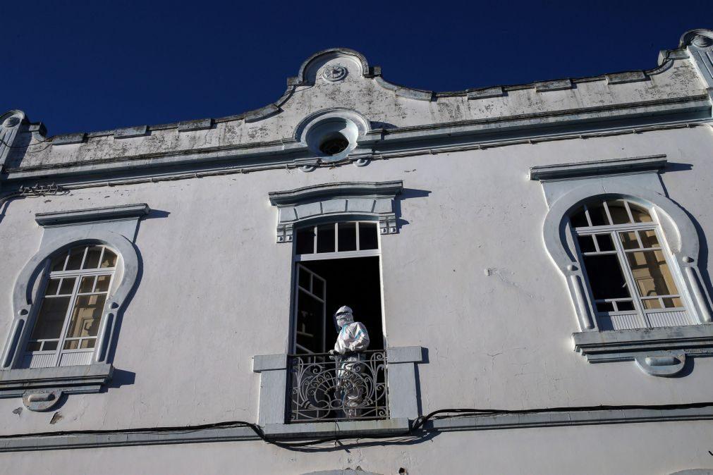 Covid-19: Lar de Reguengos de Monsaraz diz que deixou de ser resposta adequada após 1.º caso