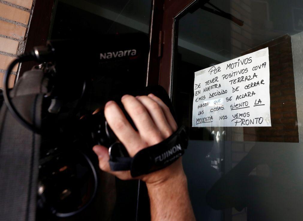 Covid-19. Região espanhola de Navarra em confinamento durante 15 dias