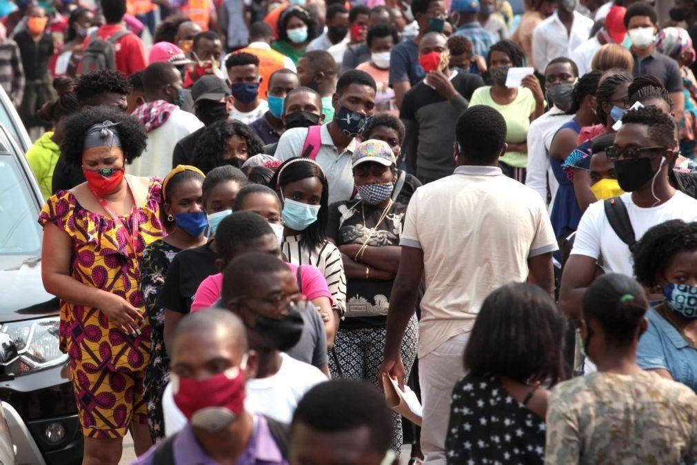 Covid-19: Autoridades angolanas preocupadas com desrespeito pelas regras de prevenção