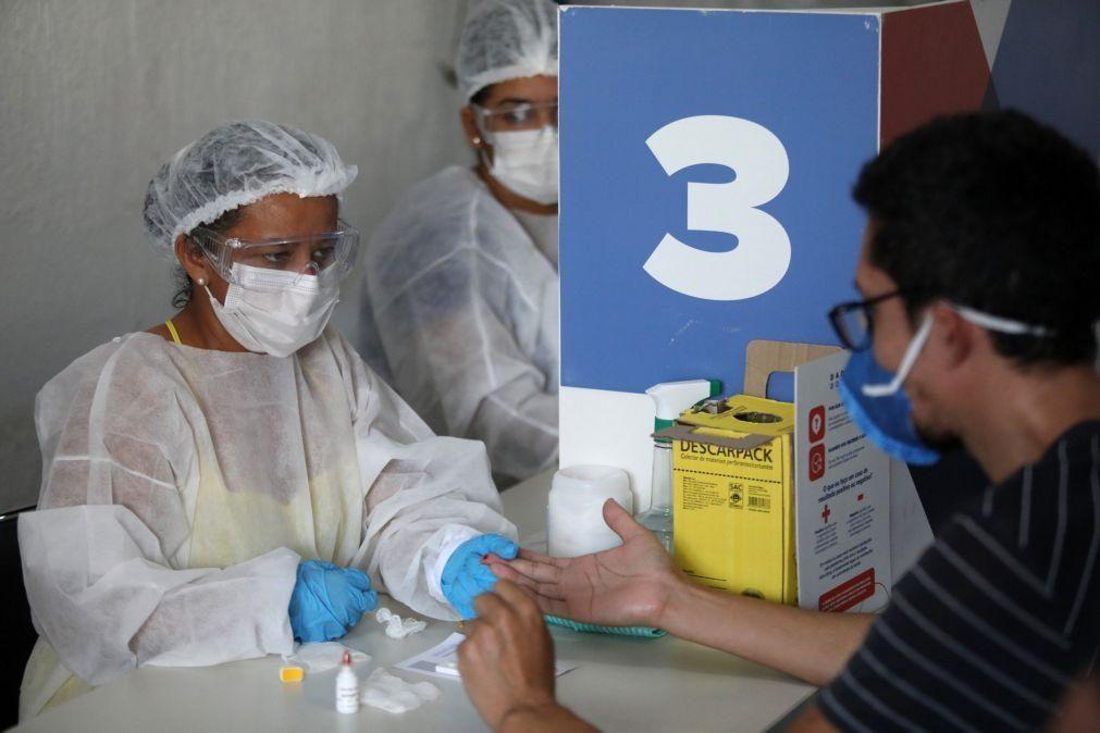 Covid-19: Mais 271 mortos e 15.383 infetados no Brasil em 24 horas