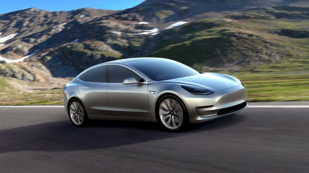 Modelo 3 da Tesla produzido na China vai ser vendido em Portugal