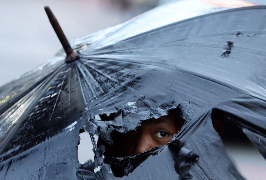 Madeira sob aviso laranja para chuva e vento forte