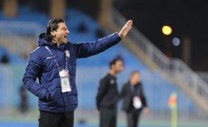 Jorge Simão é o novo treinador dos belgas do Mouscron
