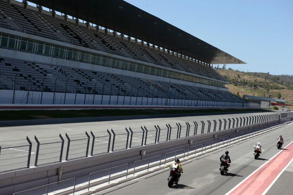 Covid:19: Lotação do autódromo do Algarve reduzida e sem peão no GP F1