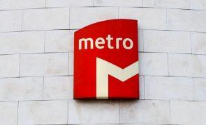 Metro de Lisboa com perturbações de circulação na quarta-feira devido a plenário