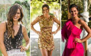 Cláudia Vieira 8 casamentos, 8 looks deslumbrantes em O Noivo É Que Sabe