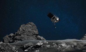 Sonda OSIRIS-REx aterra em asteroide Bennu para recolha de amostra