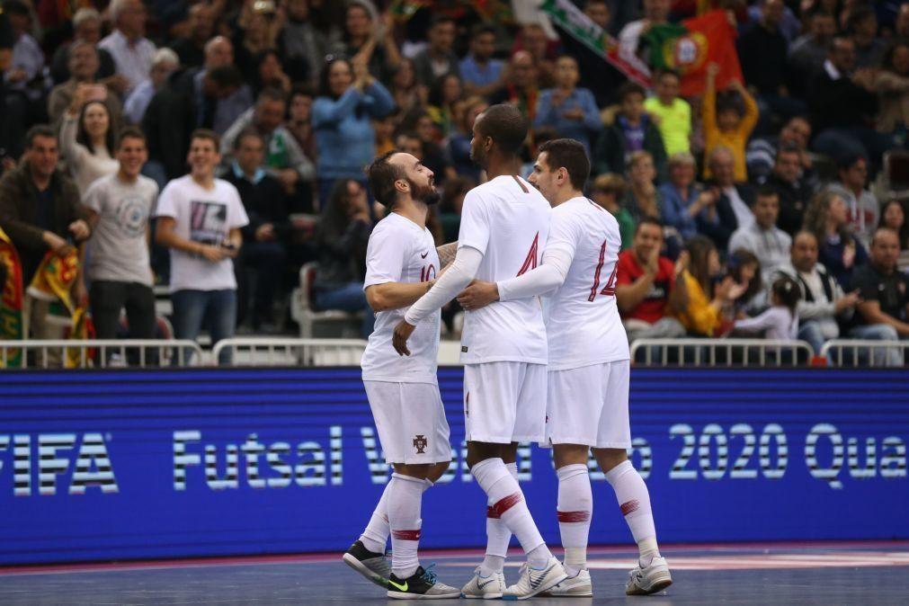 Seleção portuguesa de futsal joga dois particulares com a Espanha em Madrid