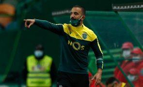 Rúben Amorim suspenso seis dias por expulsão frente ao FC Porto