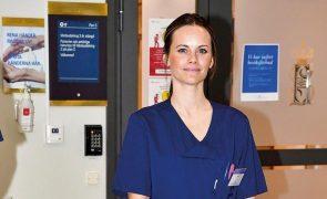 Sofia da Suécia O toque milagroso da princesa-enfermeira