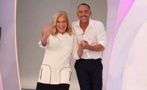 Teresa Guilherme e Cláudio Ramos Escolha de Cristina Ferreira não agrada fãs do Big Brother: «Que cobra!»
