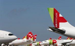 TAP: Companhia reduz capacidade em 72% e número de voos em 68% em setembro