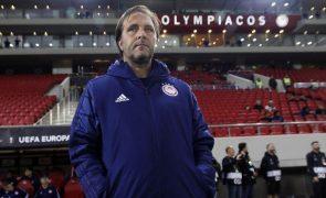Pedro Martins passa a ser o treinador com mais vitórias pelo Olympiacos na UEFA