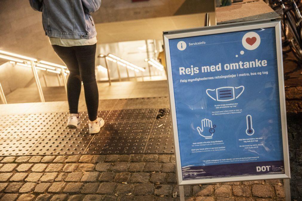 Covid-19: Dinamarca atinge recorde de casos diários e planeia novas restrições