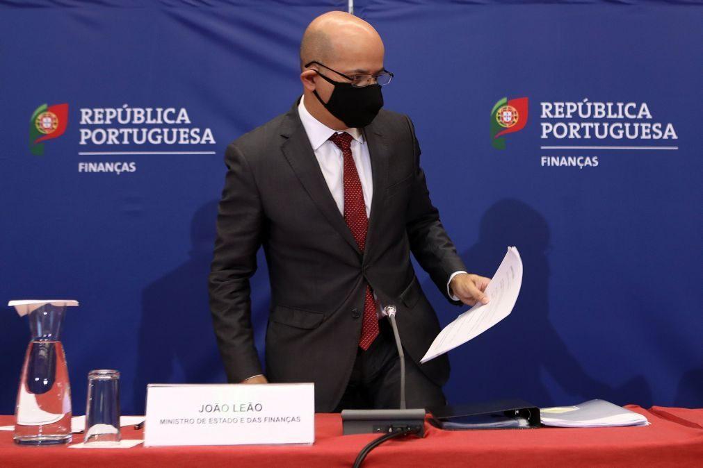 Ministro das Finanças afirma ter margem no OE2021 para aumentar dotação para apoio ao emprego