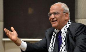 Covid-19: Mais dois altos responsáveis palestinianos infetados com o vírus