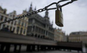 Covid-19: Bélgica reforça de novo medidas de combate à pandemia