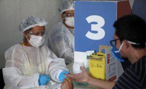 Covid-19: Mais 571 mortos e 30.026 infetados em 24 horas no Brasil