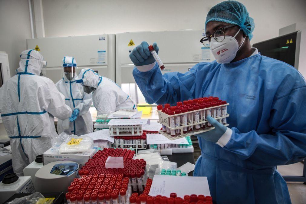 Covid-19: Angola regista 197 novas infeções e dois óbitos nas últimas 24 horas