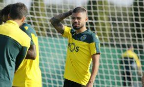 Sporting inicia preparação da receção ao Gil Vicente sem Quaresma e Tabata