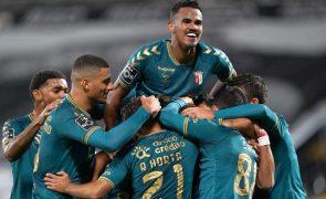 Sporting de Braga vence Vitória de Guimarães em dérbi minhoto com três expulsões