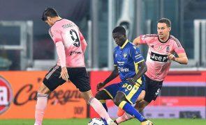 Juventus sem Ronaldo empata em Turim com o Verona