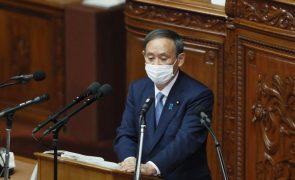 PM japonês promete neutralidade de carbono até 2050