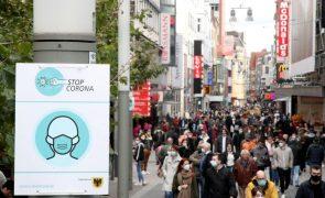 Covid-19: Alemanha regista 8.685  novas infeções nas últimas 24 horas