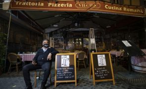 Covid-19: Itália registou menos contaminações diárias mas com menos testes