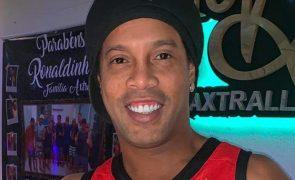 Ronaldinho Gaúcho Está infetado com a Covid-19