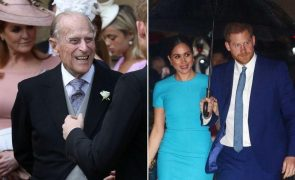 Príncipe Filipe de Edimburgo Não perdoa Meghan e Harry pelo Megxit: «Está muito desapontado»