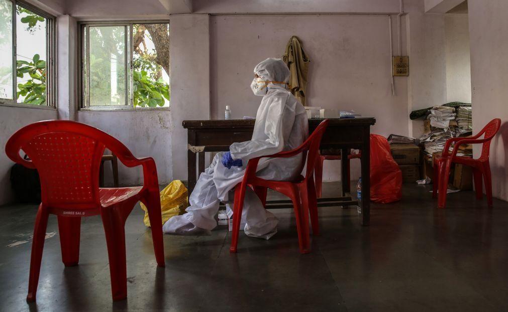 Covid-19: Índia com mais 36.470 casos, número mais baixo em três meses