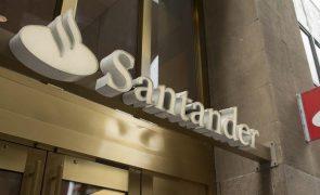 Grupo Santander com lucros de 3.658 ME até setembro com Portugal a contribuir 243 ME