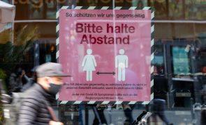 Covid-19 -- Governo alemão prevê 20 mil infeções diárias até final da semana