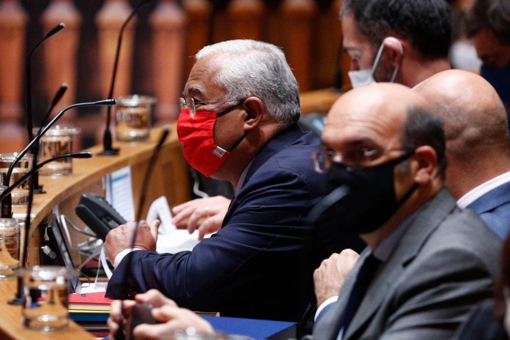 OE2021: Costa volta a afastar demissão e afirma que Governo enfrentará