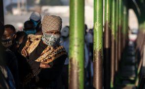 Covid-19: Mais um óbito e 112 novos infetados em Moçambique