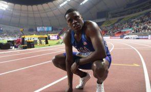 Christian Coleman, campeão do mundo de 100 metros, suspenso por dois anos