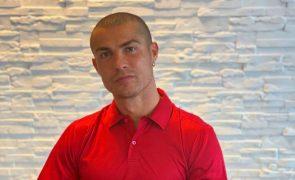 Ronaldo aguarda resultado de novo teste à covid-19 feito pela UEFA