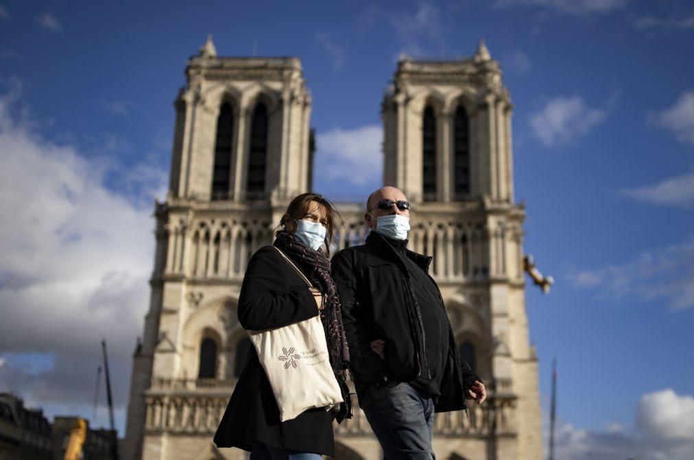 Covid-19: França volta a bater recorde diário de mortes com 292 óbitos