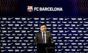 Josep Maria Bartomeu e direção do FC Barcelona demite-se em bloco