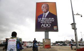 Presidente da Costa do Marfim acusa oposição de estar a