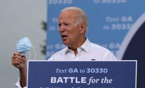 EUA/Eleições: Joe Biden votou antecipadamente no Estado de Delaware