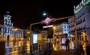 Covid-19. Madrid confinada nos próximos dois fins de semanas