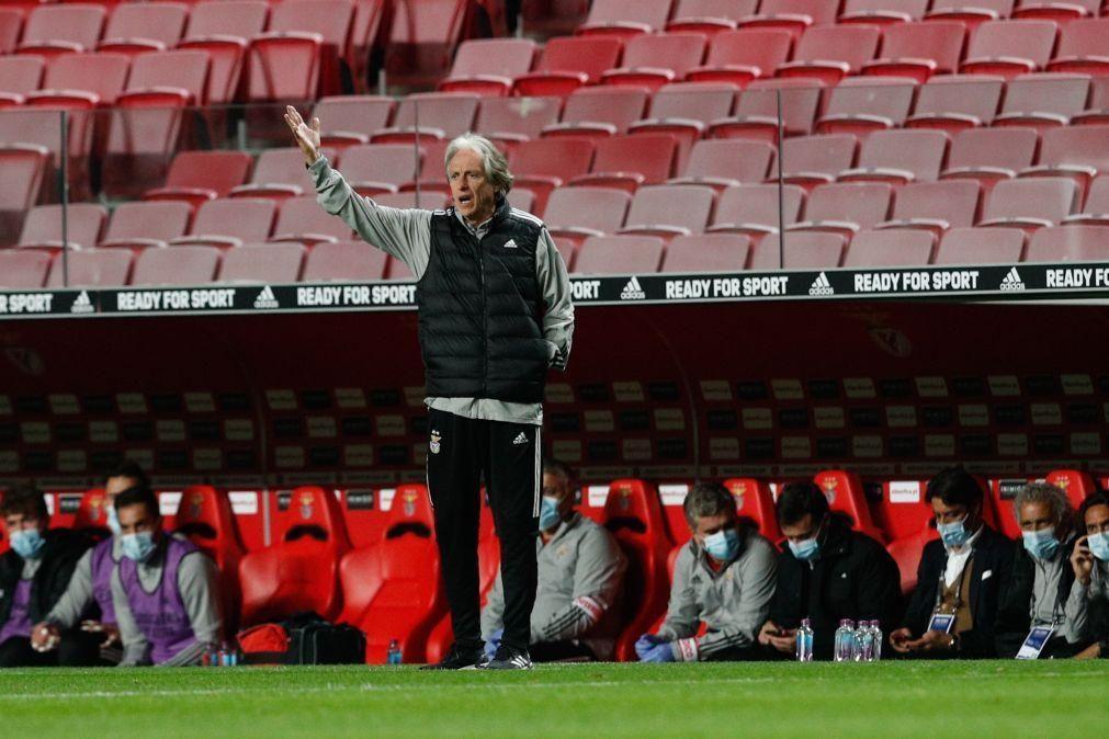 LE: Ferro, Gabriel e Chiquinho de regresso aos convocados do Benfica