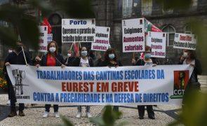 Trabalhadores da Eurest em greve dia 05 de novembro contra despedimento de 122